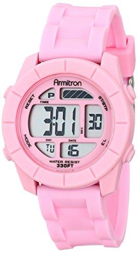 armitron-sport-donna-45-7043pnk-digitale-cronografo-con-cinturino-pink-resin
