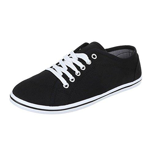 Chaussures femme, F 47, de loisirs chaussures légère Chaussures de sport Noir - Noir