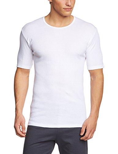 Calida Herren Unterhemd Kurzarm Cotton 1:1 Weiß (weiss 001)