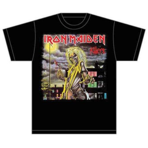 Iron Maiden - Killers Cover (T-Shirt Unisex Tg. 2XL) [Italia]