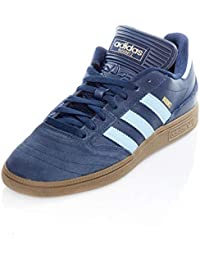 the latest 9e400 725ce Adidas Busenitz Navy Blue Gum