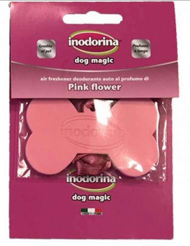 INODORINA Deodorante per Auto E Piccoli Ambienti Dog Magic' Pink Flow