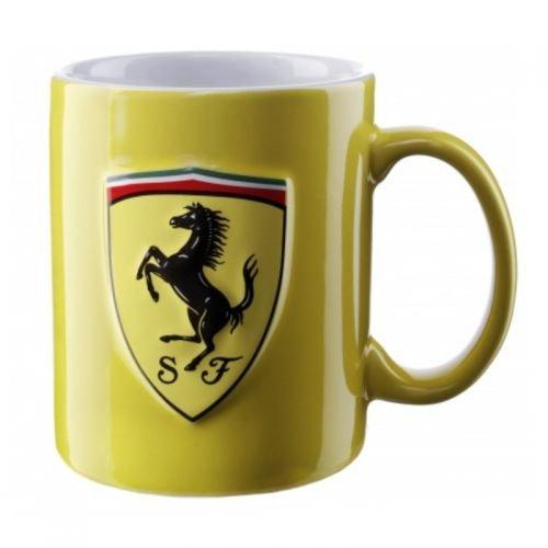 Ferrari Mug Becher Tasse gelb Scuderia SF Logo