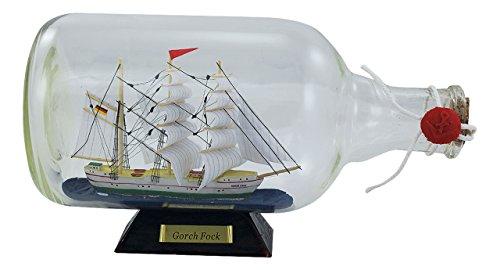 Flaschenschiff - Gorch Fock - perfekt für die maritime Dekoration