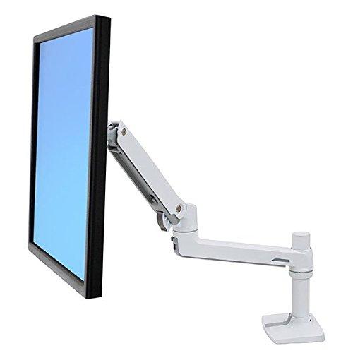 ergotron monitorhalterung ERGOTRON LX LCD Arm Fuer Tischmontage Weiss bis 81cm 32Zoll Display anheben bis 33cm 2,3-11,3kg belastbar VESA 45x75 100x100mm