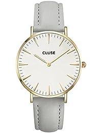 Cluse Damen Armbanduhr Analog Quarz Leder CL18414