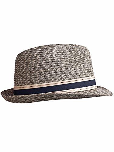 Stöhr Erwachsene Strawhat Hut grau ()