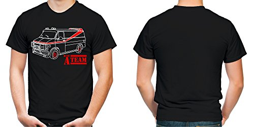 A-Team Männer und Herren T-Shirt   Spruch Hannibal B. A. Geschenk   M2 Olive