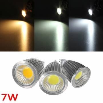 Preisvergleich Produktbild Bheema MR16 7 W 700-750LM dimmbar COB LED Spot Lampe Leuchtmittel DC / AC 12 V