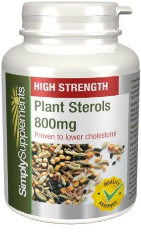 Steroli Vegetali 800mg |Riduce fino al 20% i livelli di colesterolo| 2x 180 Compresse (360 in totale) SimplySupplements