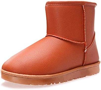 BNXXINGMU Donna Snow stivali stivali stivali Moda Pu Impermeabile Caviglia Breve Calda Felpa Casual Scarpe arancia 8.5B07KQVWNKKParent | Qualità Affidabile  | Beni diversi  | Ufficiale  85ea5f