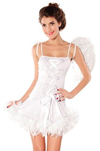 loveorama.de La vogue 3-teilig Engel Schlauch Kleid Corsage Minikleid für Cosplay