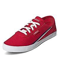 اديداس حذاء سنيكر رياضي للنساء ، احمر - مقاس 39.3 EU