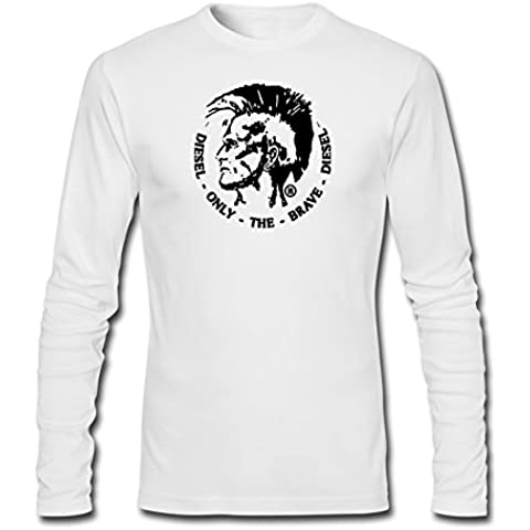 Diesel Fashion Logo For Mens Long Sleeves Outlet