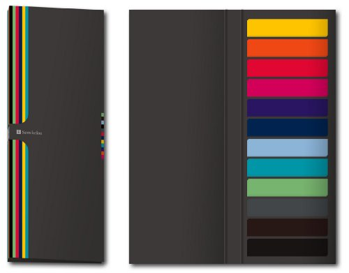 600selbstklebende Seitenmarkierungen, halb transparent, selbstklebender Notizblock (liniert), Zubehör für Semikolon Fotoalben und Bücher, Qualität von Semikolon