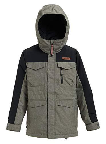 Burton Jungen Covert Snowboard Jacke, Bog Heather/True Black, XS (Snowboard-jacken Für Kinder)