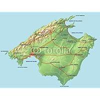 Mallorca Karte Umriss.Suchergebnis Auf Amazon De Fur Mallorca Karte Kuche