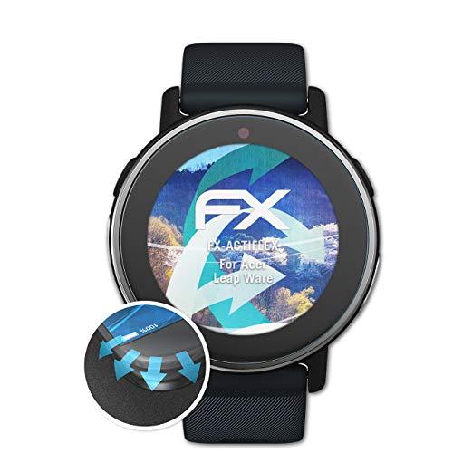 atFoliX Schutzfolie passend für Acer Leap Ware Folie, ultraklare & Flexible FX Bildschirmschutzfolie (3X)