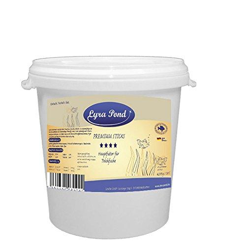 30 Liter Lyra Pond Premium Sticks in Tonne Futtersticks Teichfutter Gartenteich