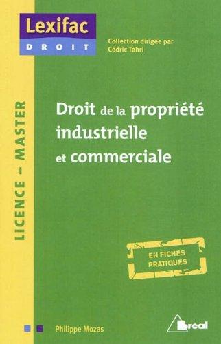 Droit de la propriété industrielle et commerciale