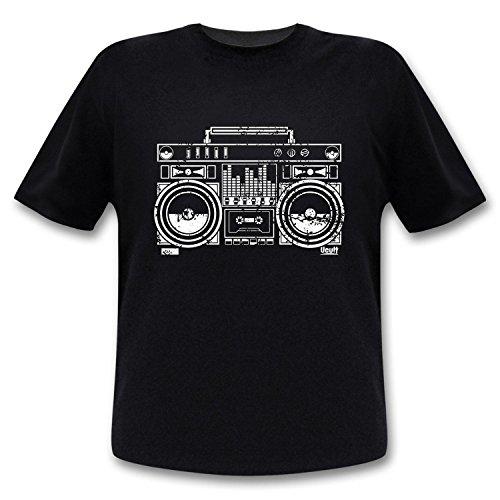 Ucult - Ghettoblaster T-Shirt Vintage Shirt / 80er Jahre Retro / Hip Hop / Boombox/ Ucult - S (Vintage 80er Retro T-shirt Jahre)