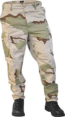 normani US Ranger Hose BDU Hose in verschiedenen Farben Farbe 3-Color-Desert Größe S (Us Army Bdu)
