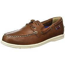 Sebago Men's Naples 7000070 Boat Shoes Dk Brown 12 UK