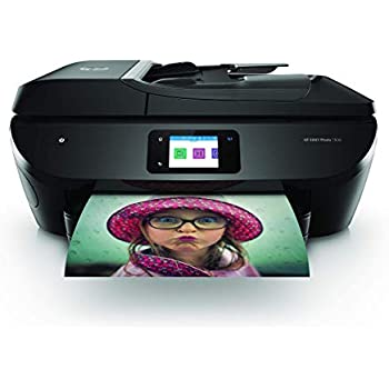 HP Envy Photo 7830 Impresora multifunción inalámbrica (Tinta, Wi-Fi, copiar, escanear, alimentador automático de documentos, 1200 x 1200 PPP, 1 año de ...