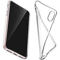"""UEETEK Caja del teléfono para el iPhone X, Cristal Protector Transparente Transparente con amortiguación Suave Cubierta del Gel TPU Shell para Apple 5.8""""iPhone X"""