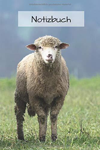 Notizbuch Schaf: Tagebuch / Notizbuch mit Schaf Motiv | liniert 120 - Für Erwachsene Schafe Kostüm