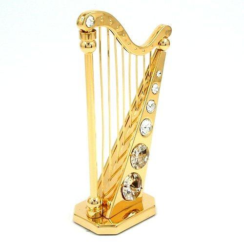 Harfe mit Glas-Steinen 70310