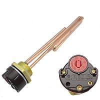 "MISOL 1500W G1.25""(BSP,DN32) 220V Electrical immersion element booster, with thermostat / booster for water heater/Elemento de refuerzo eléctrico de inmersión, con termostato, refuerzo para el calentador de agua"