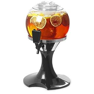 bar@drinkstuff Drinks Orb Beverage Dispenser 7 Pint Drinks Dispenser, Juice Dispenser, Punch Dispenser, Beer Dispenser