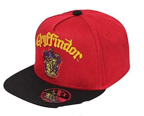 Harry Potter Jungen oder Mädchen Baseball Cap Kappe Schirmmütze (Weinrot, 54)