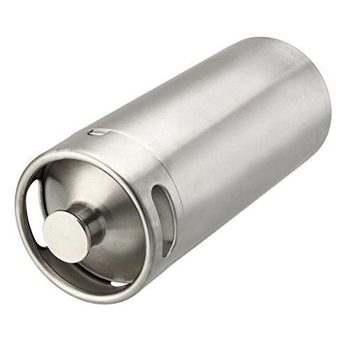 DyNamic 4L Edelstahl Mini Keg Growler für Bier oder Wein Home Brew Homebrew Kegerators -