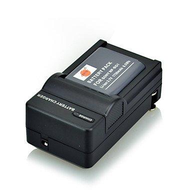 Bright- 3,6 V 1750mAh DSTE Akku NP-BG1 NP-FG1 Lithium-Ionen-Akku und uns Stecker für Sony Cybershot DSC-dsc-w90 w90sc Np-fg1 Lithium-batterie