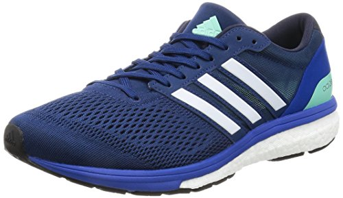 adidas Adizero Boston 6, Zapatillas de Running para Hombre, Azul (Mystery Blue/night Navy/blue), 42 EU