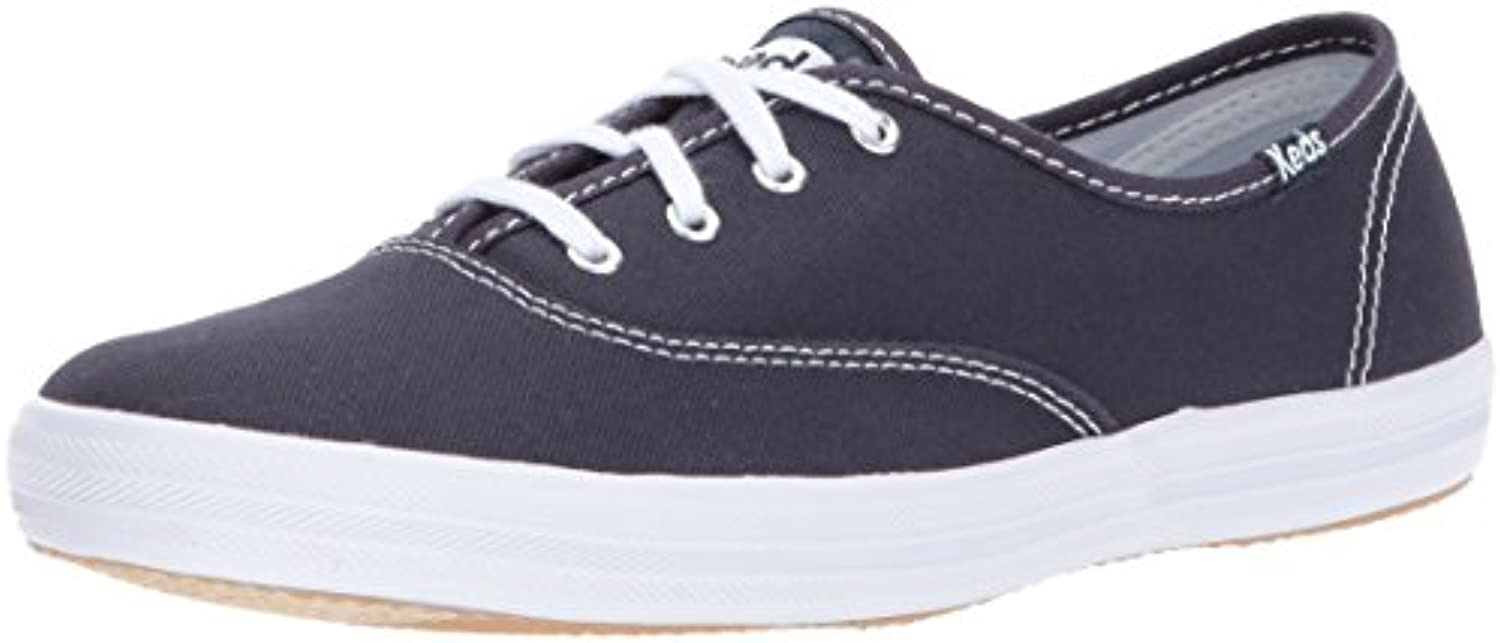 Keds Women's Champion Original Navy,10 Canvas Sneaker, Navy,10 Original WW US b61930