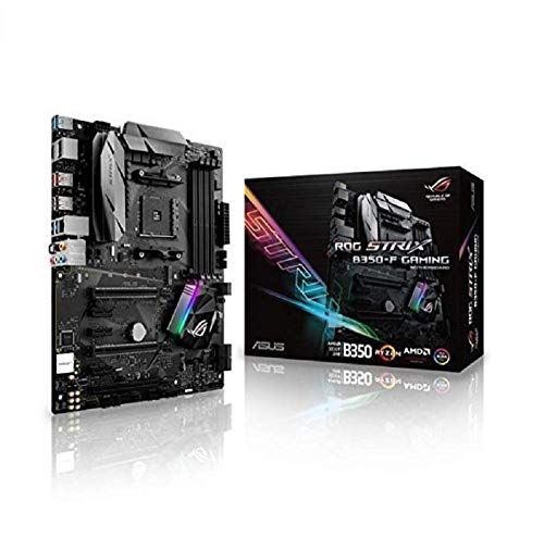 Asus AMD AM4 B350 ATX - Placa base gaming Aura Sync