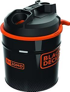 BLACK & DECKER BXVC20MDE Aspiracenere Soffiatore Potenza 900 Watt