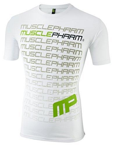 Abbigliamento uomo in tessuto Muscle Pharm Printed thst - 41u2fDcllhL