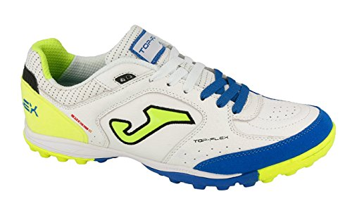 Joma Top Flex, Chaussures de Futsal Mixte Adulte Blanc (White)