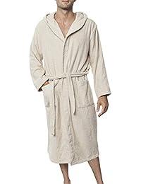 7c5e471db0 Men s Bathrobe (XS to XL) - Luxury 100% Cotton Bathrobes