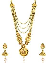 Sukkhi Jewellery Jewellery Set for Women (Golden) (N79602)
