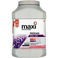 MaxiNutrition Progain Mass and Size Protein Shake Powder, 1.5 kg - Strawberry