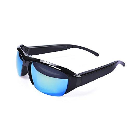 Versteckter Kamera Brille Spy Kamera Video Loop Recording Sonnenbrille Outdoor Mini DV Camcorder [8GB enthalten]
