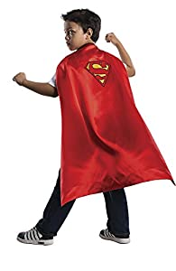 Capa reversible Batman Vs. Superman disfraz para niño, Talla única infantil (Rubie