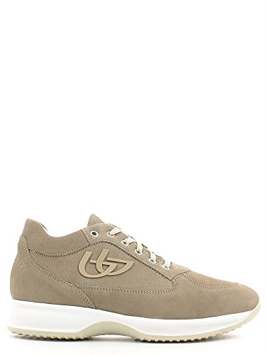 Blu Byblos 662050 Sneakers Uomo Scamosciato Taupe Taupe 41