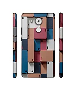 NattyCase Mobile Covers Design 3D Printed Hard Back Case Cover for Huawei Mate 8
