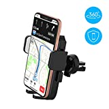 yoozon Handyhalterung Auto Lüftung, 360°Drehbar Auto Handyhalter, Smartphone KFC Halterung für iPhone XS MAX/XR/XS/X/ 8/ 8Plus/ 7/ 7Plus,Samsung Galaxy s10/S9/S8/S7/ & Fast Jede andere Handy